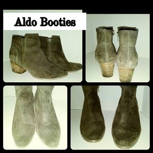 Aldo Suede ankle boot